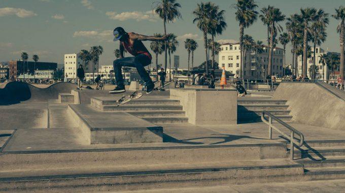 Skate Park Muscle Beach California