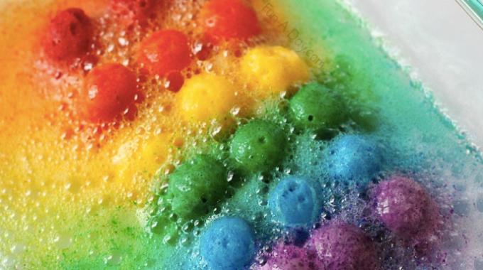 Rainbow Fizzes